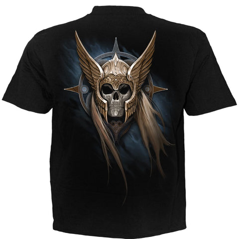 ANGEL WARRIOR - T-Shirt Black - Spiral USA