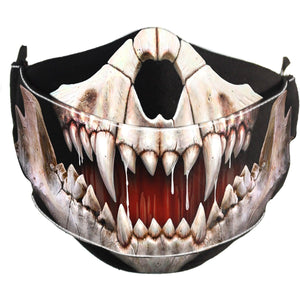 ROCK JAW - Premium Cotton Fashion Mask with Adjuster - Spiral USA