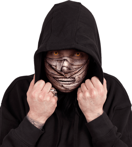 Image of MUMMIFIED - Premium Cotton Fashion Mask with Adjuster - Spiral USA