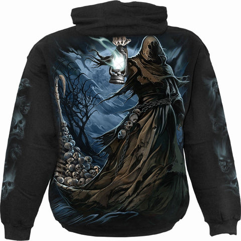 Image of FERRYMAN - Hoody Black - Spiral USA