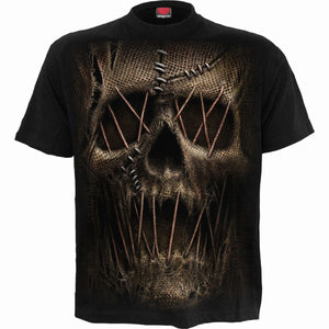 THREAD SCARE - T-Shirt Black