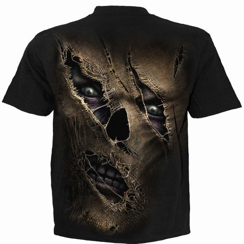 THREAD SCARE - T-Shirt Black - Spiral USA