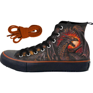DRAGON FURNACE - Sneakers - Men's High Top Laceup - Spiral USA