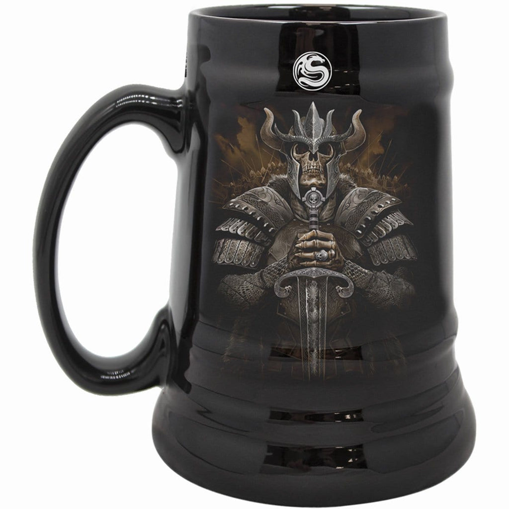 VIKING WARRIOR - Steins - Ceramic Beer Mug - Gift Boxed - Spiral USA