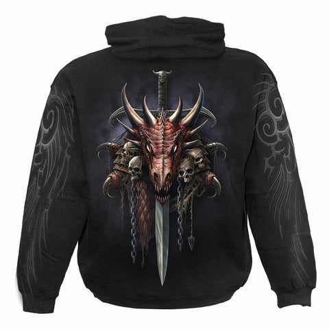 DRACO UNLEASHED - Hoody Black - Spiral USA