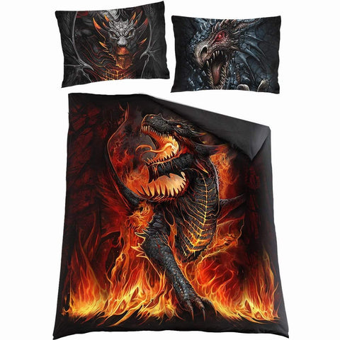 Image of DRACONIS - Double Duvet Cover + UK And EU Pillow case - Spiral USA