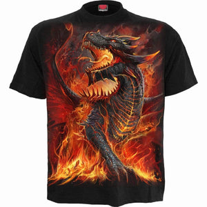 DRACONIS - Kids T-Shirt Black - Spiral USA