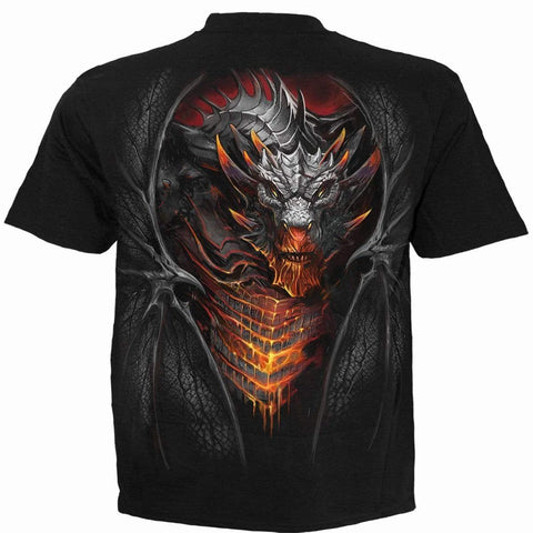 DRACONIS - T-Shirt Black - Spiral USA