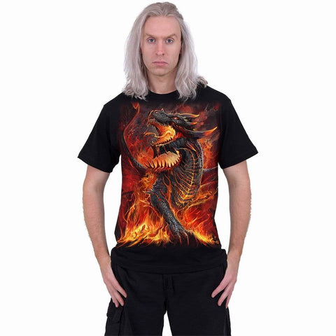 Image of DRACONIS - T-Shirt Black - Spiral USA