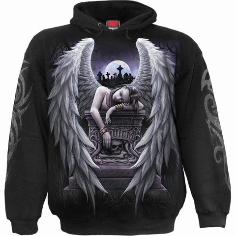 Image of INNER SORROW - Hoody Black - Spiral USA