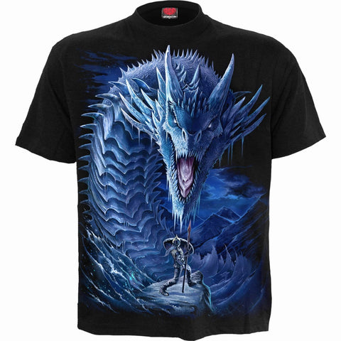 Image of ICE DRAGON - T-Shirt Black
