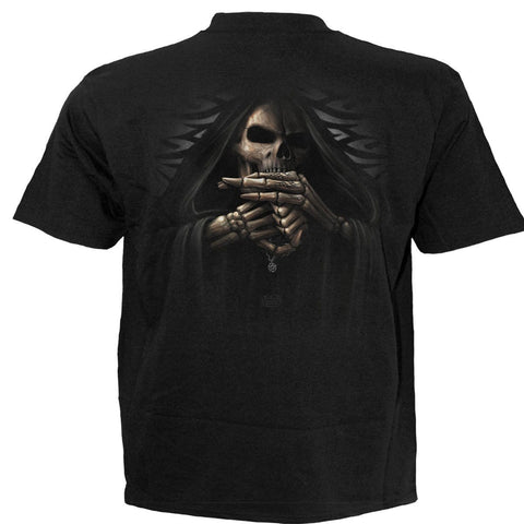 BONE FINGER - T-Shirt Black - Spiral USA