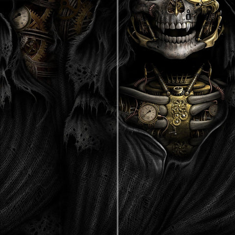 Image of STEAM PUNK REAPER - Multifunctional Face Wraps - Spiral USA