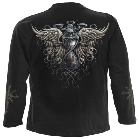 DARKNESS - Longsleeve T-Shirt Black - Spiral USA