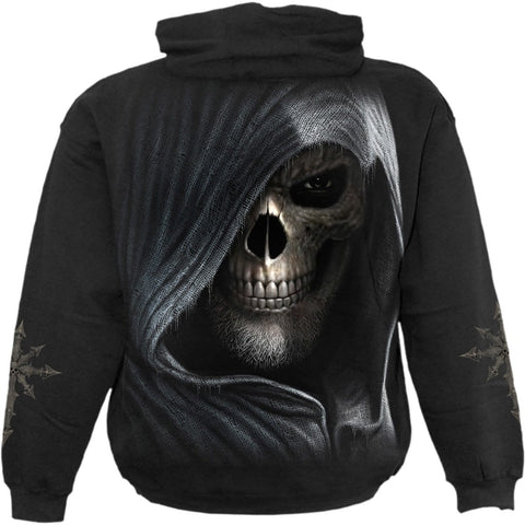 Image of DARKNESS - Hoody Black - Spiral USA