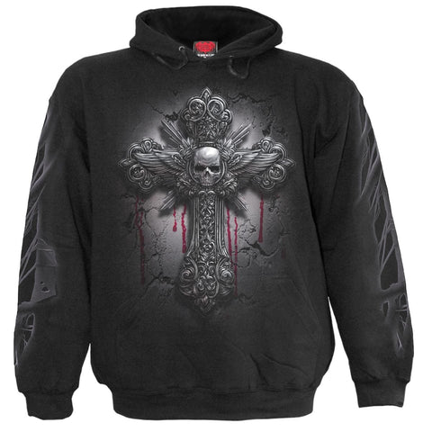 Image of DEAD HAND - Hoody Black - Spiral USA