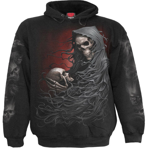 Image of DEATH ROBE - Hoody Black - Spiral USA