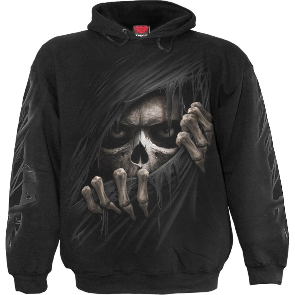 GRIM RIPPER - Hoody Black - Spiral USA