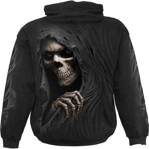 Image of GRIM RIPPER - Hoody Black - Spiral USA