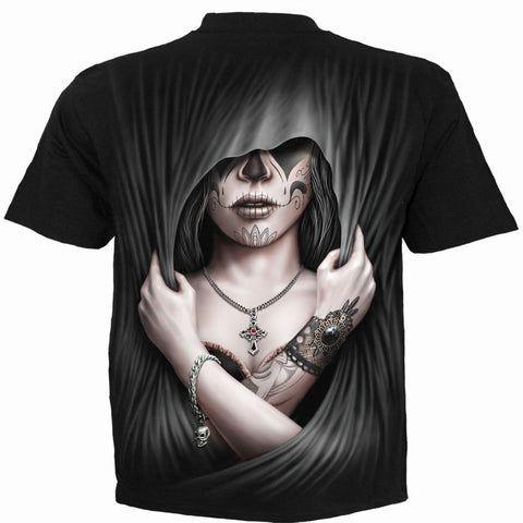Image of DEAD LOVE - T-Shirt Black - Spiral USA