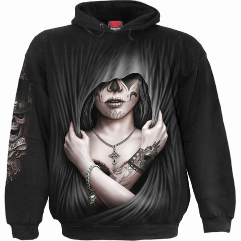 Image of DEAD LOVE - Hoody Black - Spiral USA