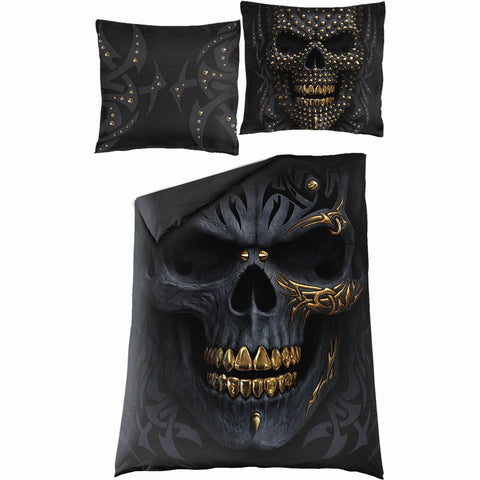 Image of BLACK GOLD - Single Duvet Cover + UK And EU Pillow case - Spiral USA