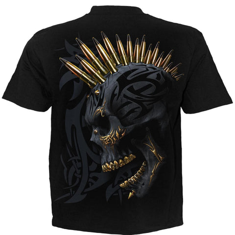 BLACK GOLD - T-Shirt Black - Spiral USA
