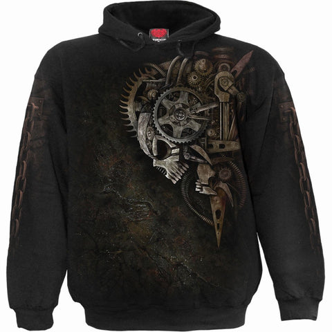 Image of DIESEL PUNK - Hoody Black - Spiral USA