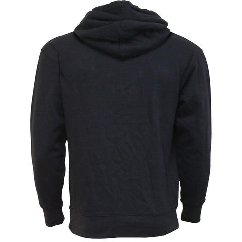 Image of METAL STREETWEAR - Side Pocket Stitched Hoody Black - Spiral USA