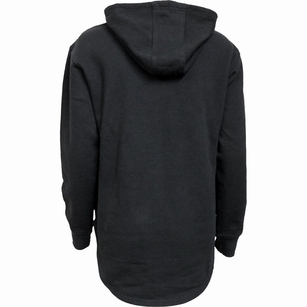 METAL STREETWEAR - Ladies Dipped Hem Oversized Hoodie - Spiral USA
