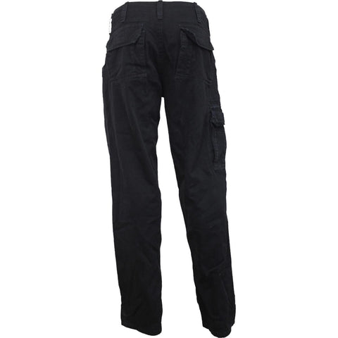 Image of METAL STREETWEAR - Vintage Cargo Trousers Black - Spiral USA