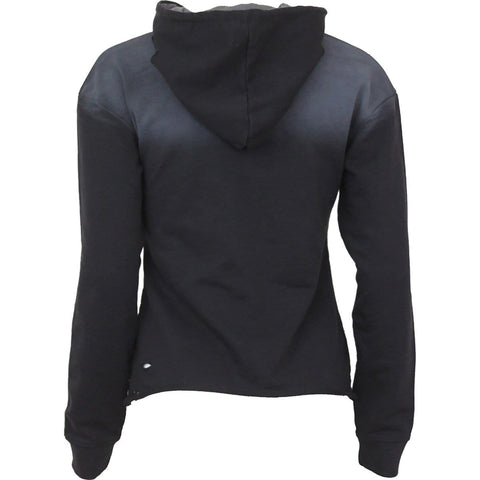 URBAN FASHION - Distressed Spray On Ladies Hoody