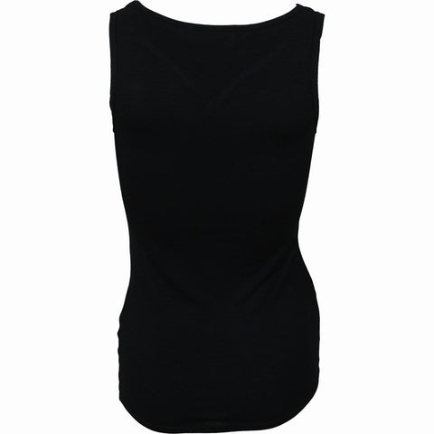 Image of URBAN FASHION - V-Neck Vest Top - Spiral USA