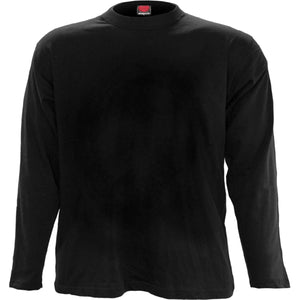 URBAN FASHION - Longsleeve T-Shirt Black - Spiral USA