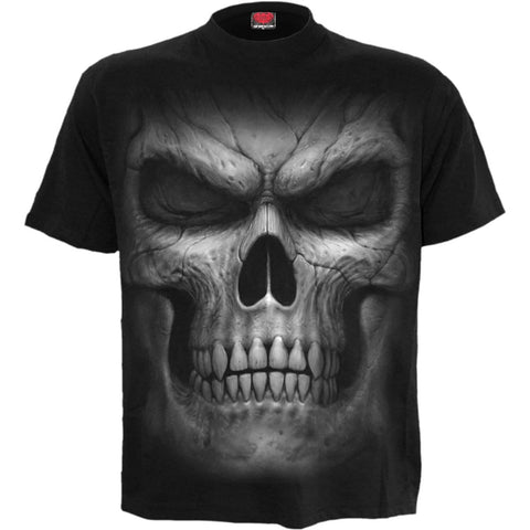 Image of SHADOW MASTER - Front Print T-Shirt Black