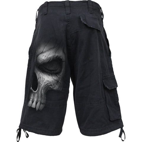 Image of SHADOW MASTER - Vintage Cargo Shorts Black - Spiral USA