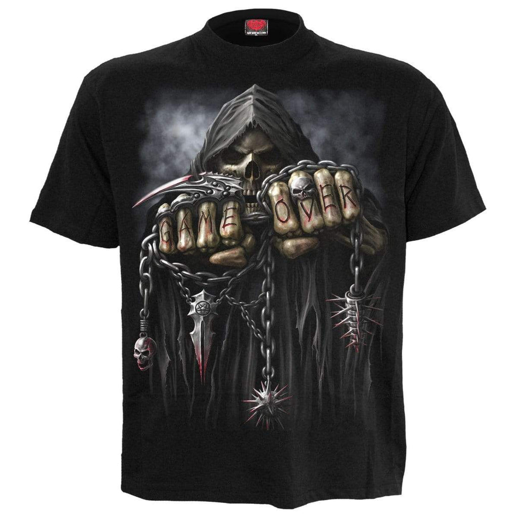 GAME OVER - T-Shirt Black - Spiral USA