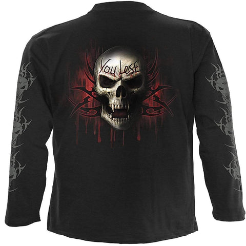 Image of GAME OVER - Longsleeve T-Shirt Black