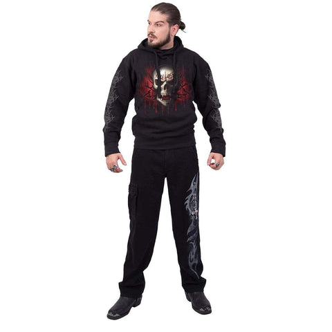 GAME OVER - Hoody Black - Spiral USA