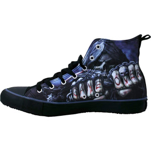 GAME OVER - Sneakers - Men's High Top Laceup - Spiral USA