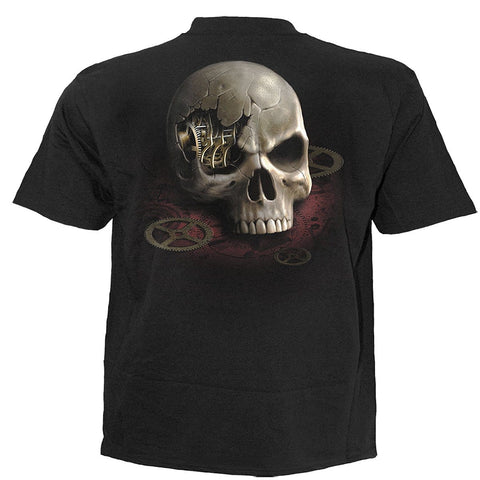STEAM PUNK BANDIT - Kids T-Shirt Black - Spiral USA