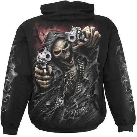 Image of ASSASSIN - Hoody Black - Spiral USA