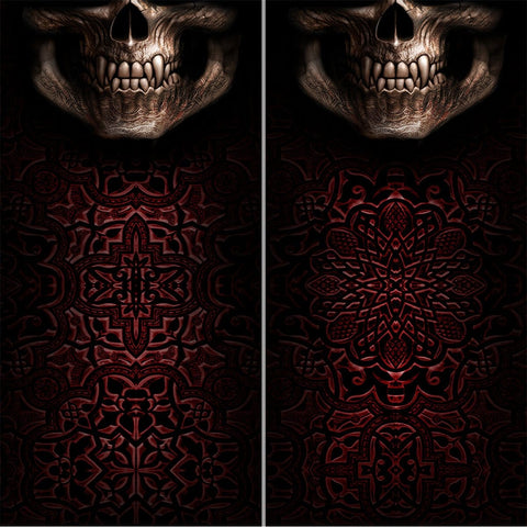 Image of GOTH SKULL - Multifunctional Face Wraps - Spiral USA