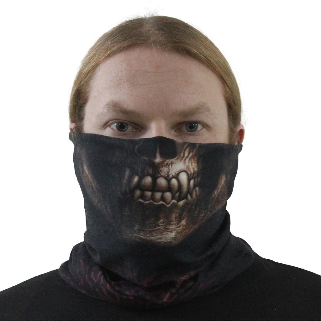GOTH SKULL - Multifunctional Face Wraps - Spiral USA