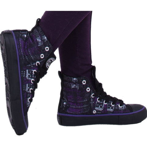 WAISTED CORSET - Sneakers - Ladies High Top Laceup - Spiral USA