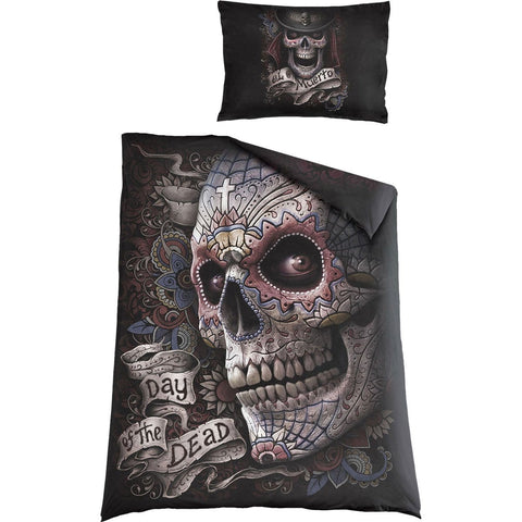 Image of EL MUERTO - Single Duvet Cover + UK And EU Pillow case - Spiral USA