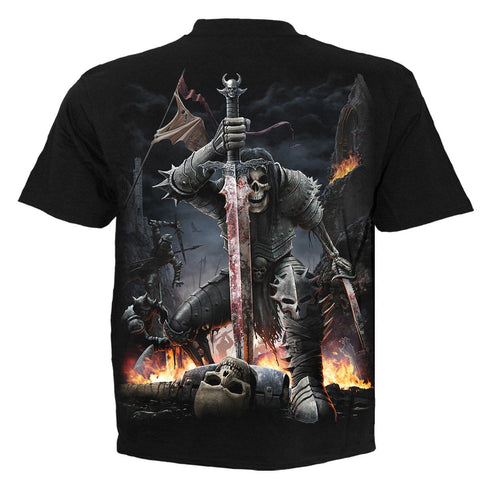 Image of SPIRIT OF THE SWORD - T-Shirt Black - Spiral USA