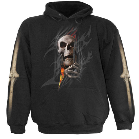 Image of DEATH RE-RIPPED - Kids Hoody Black