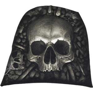 CATACOMB - Light Cotton Beanies Black - Spiral USA