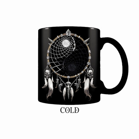 WOLF CHI - Heat Change Ceramic Coffee Mug - Gift Boxed - Spiral USA